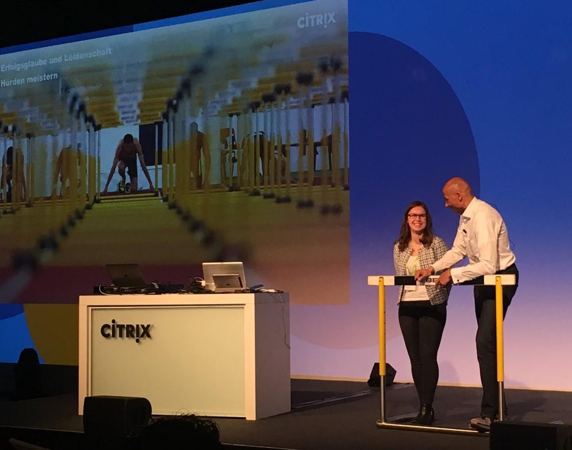 Citrix Keynote Olympia-Gewinner Edgar Itt