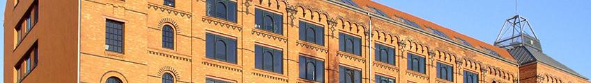 Ausschnitt - Backsteingebäude