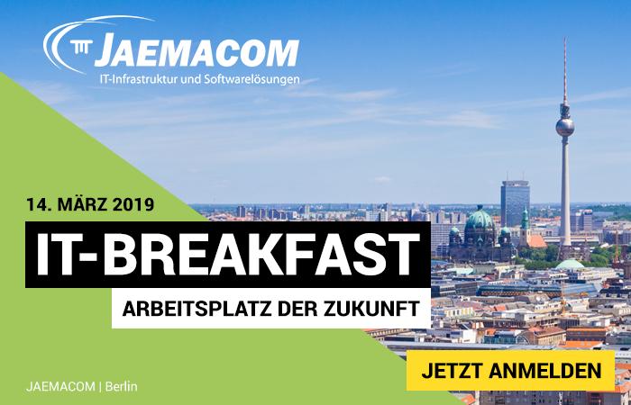 """IT-Breakfast: Thema """"Arbeitsplatz der Zukunft"""""""