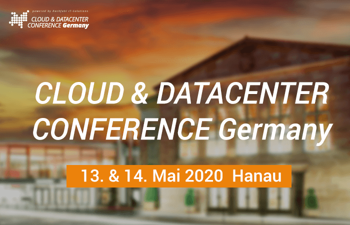 CLOUD & DATACENTER CONFERENCE Germany 2020 Hanau
