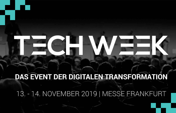 Tech Week Frankfurt November 2019