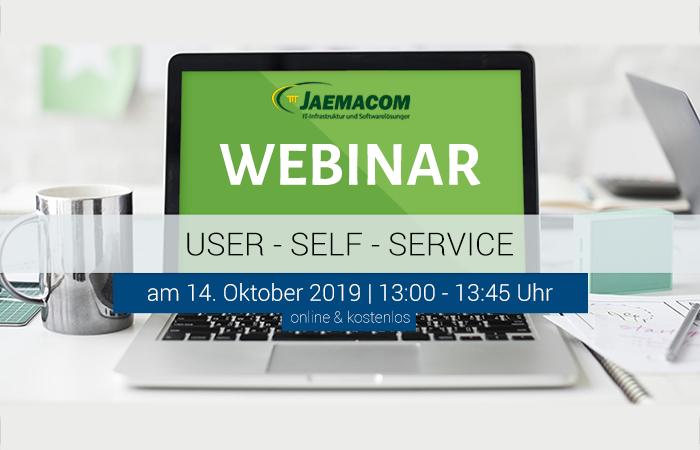 """Webinar: Vorkonfigurierter User-Self-Service, ITIL®-basierte Prozesse """"out of the box"""""""