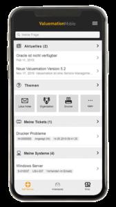 Intuitive Bedienung und relevante Informationen per Self-Service auf dem Handy